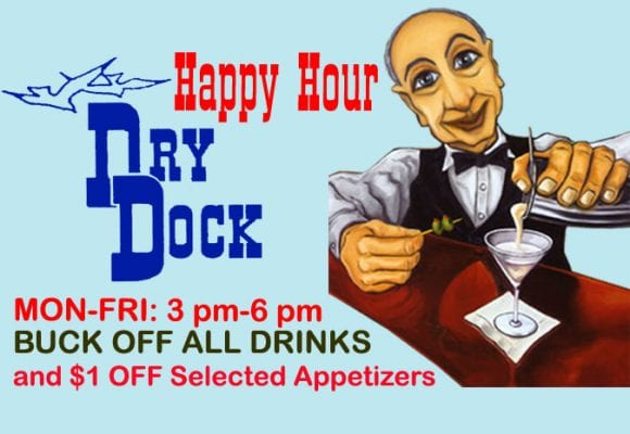 Dry Dock Restaurant and Bar Happy Hours | Duluth MN