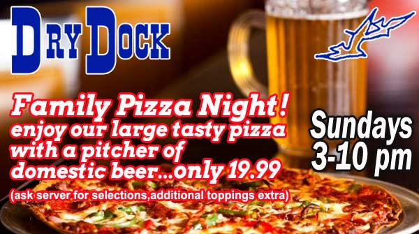 Pizza & Pitcher $19.99
